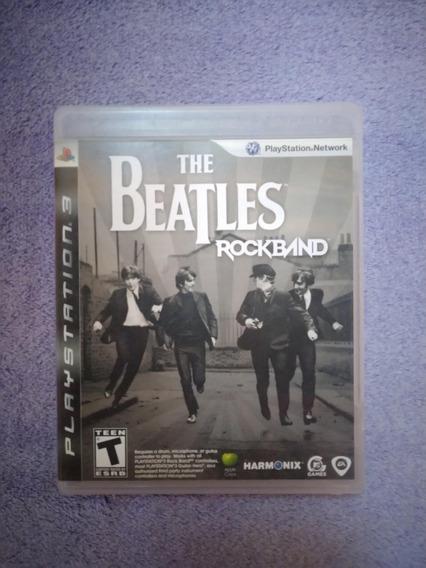 Jogo The Beatles Rockband Playstation 3 (ps3) Mídia Física