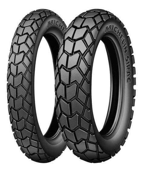 Llantas Michelin 120/80-18 62t Y 90/90-21 54t Sirac