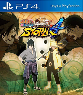 Naruto Shipuden Ultimate Ninja Storm4 Ed. Deluxe Digital Ps4