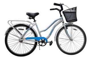 Bicicleta Dama Hendel Sport Lady Full Aluminio R-26 Gris