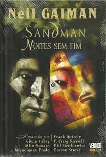 Hq Sandman - Noites Sem Fim - Vertigo - Neil Gaiman