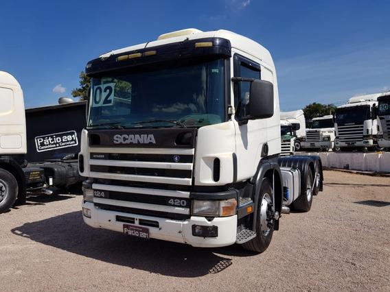 Scania P124 420 2002 Com Retarder P 124