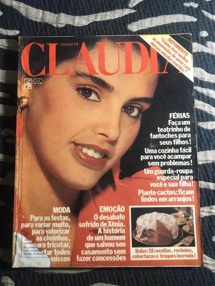 Claudia 79 Débora Xênia Bethânia Paul Newman Lucille Bacal