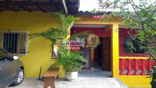Casa Com 4 Dorms, Balneário Jussara, Mongaguá - R$ 307 Mil, Cod: 3861 - V3861
