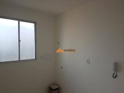 Apartamento Com 1 Dormitório À Venda, 37 M² Por R$ 100.000 - Parque São Sebastião - Ribeirão Preto/sp - Ap3726
