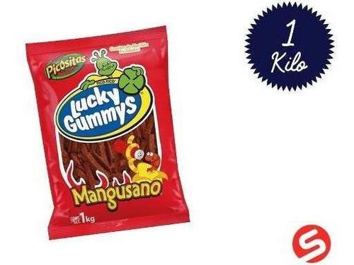 Imagen 1 de 1 de Gummy Lucky Manguitos 1kg
