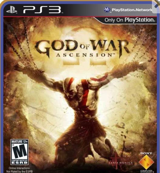 God Of War Ascension Play 3 Jogo Em Oferta Comprar