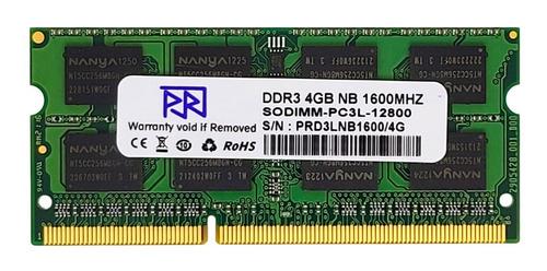 Imagen 1 de 1 de Memoria Ram Ddr3l 4gb 2rx8 16-chips Pc3l-12800 Sodimm Laptop