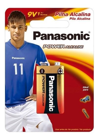 Bateria P/ Instrumentos/pedal 9v Alcalina Panasonic 6lf22xab