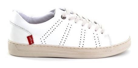 Zapato Casual Levis Para Hombre L218014 Blanco [lev86]