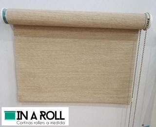 Cortina Roller Screen Rusticas 4% - A Medida