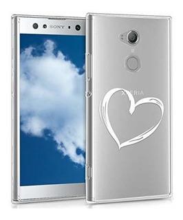 Funda Funda De Silicona Kwmobile Tpu Para Sony Xperia Xa2 U