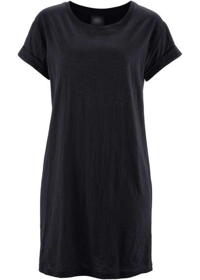 Kit 4 Camiseta Vestido Feminina