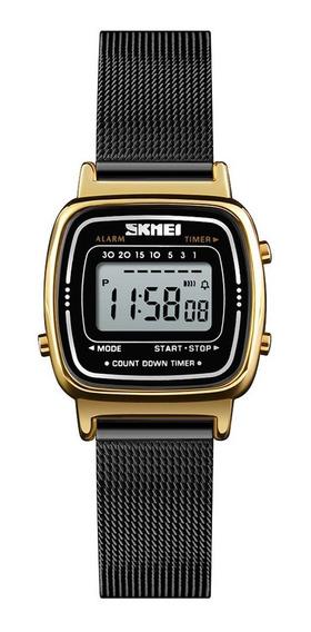 Skmei 1252 Mulheres Relógio 30m Multifuncionais À Prova D&#3