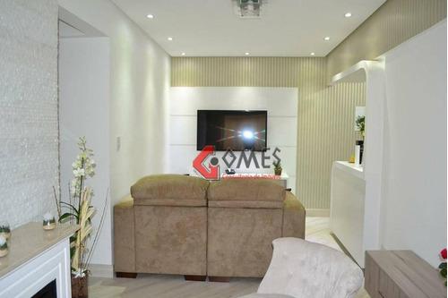 Apartamento Com 3 Dormitórios À Venda, 70 M² Por R$ 383.000,00 - Vila Dusi - São Bernardo Do Campo/sp - Ap2357