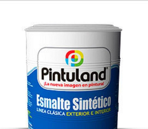 Esmalte Pintuland 1/4, Blanco, Negro, Amarillo, Rojo, Azul
