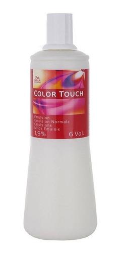 Imagem 1 de 1 de Wella Emulsão Color Touch 1,9% 1 Litro 6 Vol Matizar Raiz