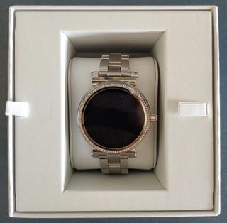 Smartwatch Michael Kors Access Sofie Mkt5020 Prata+cristais