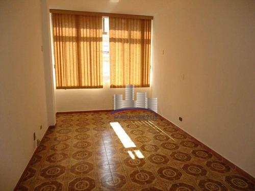 Imagem 1 de 26 de Apartamento Com 1 Dormitório À Venda, 52 M² Por R$ 297.000,00 - Gonzaga - Santos/sp - Ap6184