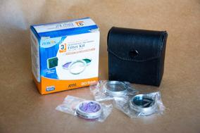Kit Com 03 Filtros Zeikos 30,5mm - Uv Cpl E Fld-d