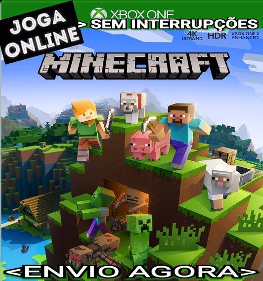 Minecraft Xbox One Joga Online Digital Original Envio Rápido