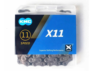 Corrente Kmc X11 11v Speed E Mtb! 11 Velocidades 118 Links