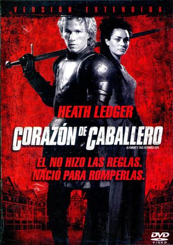 Dvd Corazon De Caballero ( A Knight´s Tale ) 2001 - Brian He