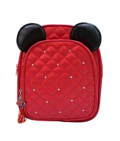 Disney+mochila+minnie Vermelha