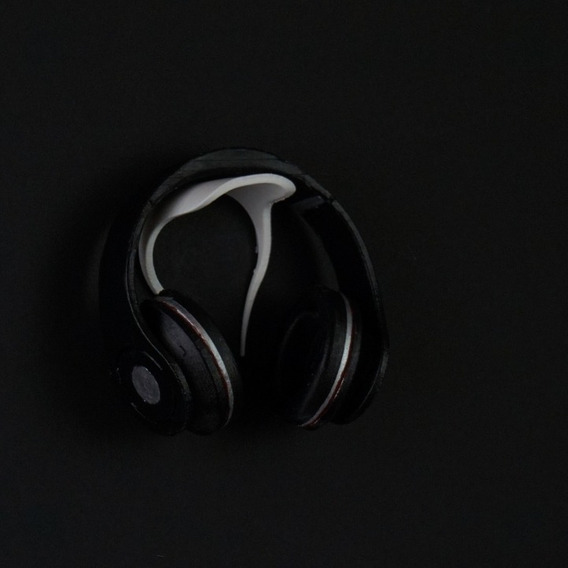 Suporte De Parede Fone De Ouvido Headphone + Dupla Face