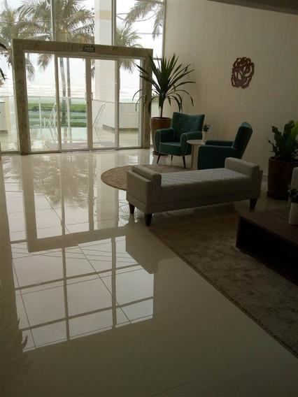 Apartamento 02 Dormitórios Sendo 02 Súites -frente Mar-flórida-praia Grande - Sp801