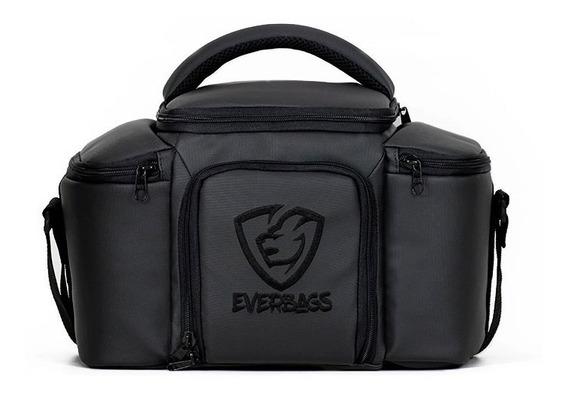 Bolsa Térmica Fitness Top - Black Marmita Academia Everbags