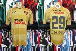 Sport Recife 2009 Camisa Reserva Tamanho Gg Número.