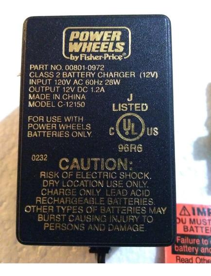 Cargador Power Wheels (fisher Price) De 12v