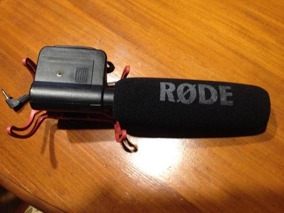 Microfone Shotgun Rode Videomic Com Sistema De Suspensão Ryc