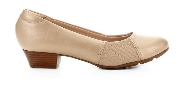 Sapato Peep Toe Ortopédico Modare Feminino Claro 7032534