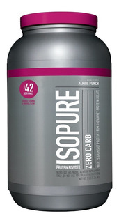 Proteina Isopure Zero Carb 3 Lbs Sabor Alpine Punch