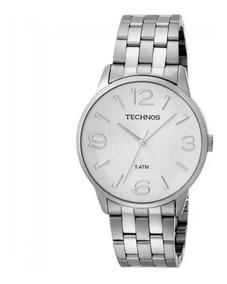 Relógio Technos Feminino Fashion Trend 2035yk/1k Prata