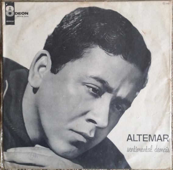 Lp Vinil Altemar Dutra Sentimental Demais. Ano 1965 - Mono.