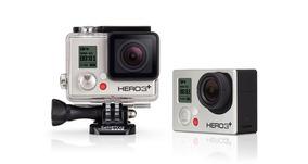 Gopro Hero 3+ Silver + Cartão Microsd 16gb (produto Usado)