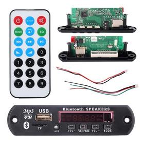 Placa Decodificador Usb Mp3 Fm Aux Bluetooth