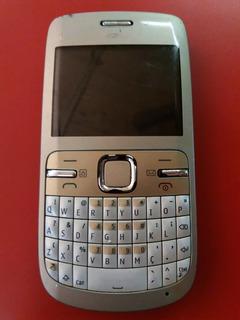 Celular C3 Nokia P/ Retirar Peças Não Da Rede E Microfone