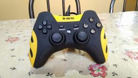 Controle Joystick Pc Gamer Com Fio Ps3 Ps2 B-max