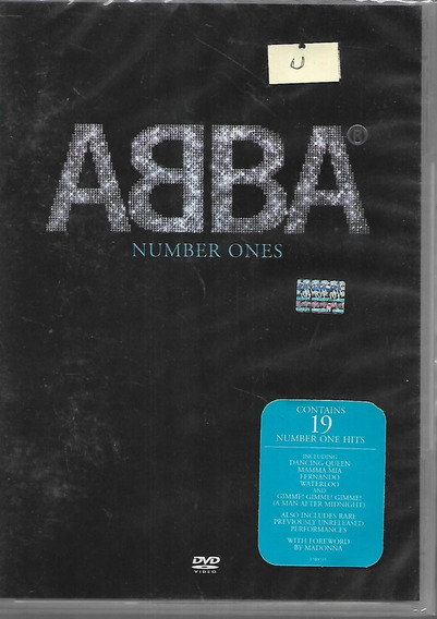 Abba Album Number Ones Contiene 19 Number One Hits Dvd