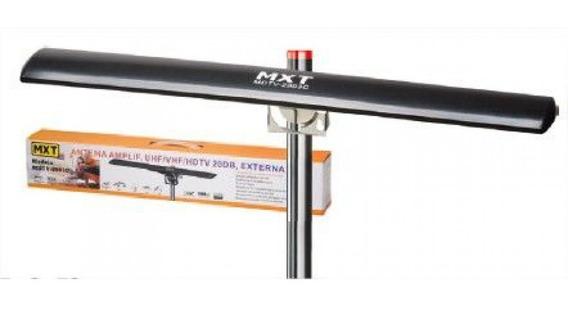 Antena Digital Externa Amplificada 25db Hdtv Vhf Uhf