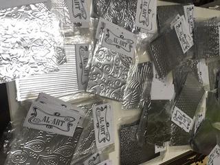 Chapitas Decorativas De Aluminio Al-art Paq X 5un