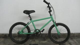 Bicicleta Verde Agua Para Niño Rodado 16