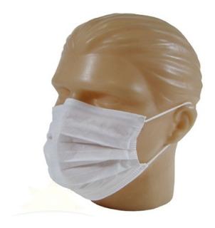 10 Máscaras Proteção Facial Lavável Tecido Tnt Similar N95