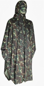 Poncho Impermeável Militar Camuflado Exército