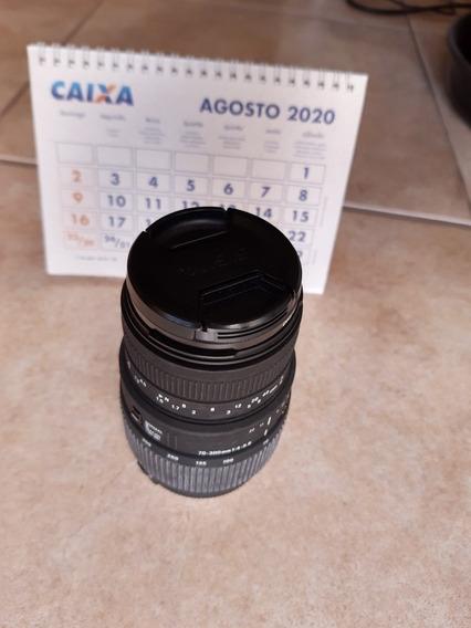 Sigma 70-300mm F1:4-5.6Excelente P/ Foto Magro E Paissagens