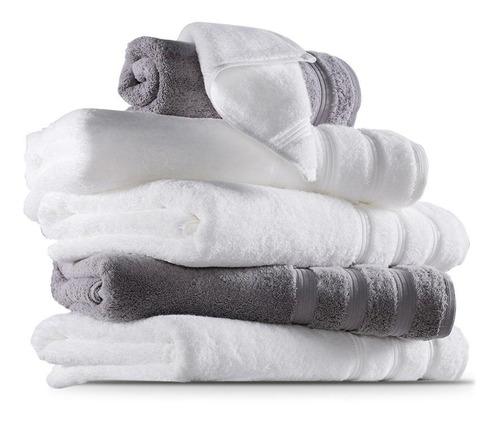 Pack X 10 Juego De Toalla/toallón 100% Algodón Importado Usa